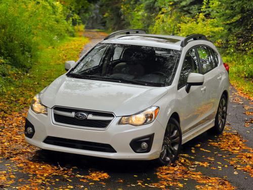 Фото автомобиля Subaru Impreza 4 поколение, ракурс: 45