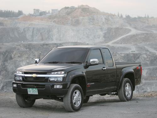 Фото автомобиля Chevrolet Colorado 1 поколение, ракурс: 45