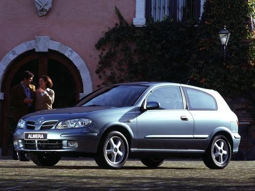 Фото автомобиля Nissan Almera N16, ракурс: 45