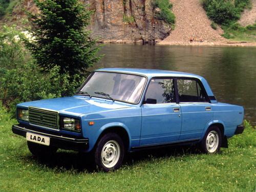 Фото автомобиля ВАЗ (Lada) 2107 1 поколение, ракурс: 45 цвет: синий