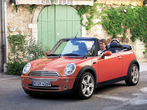 Фото автомобиля Mini Cabrio R52, ракурс: 45