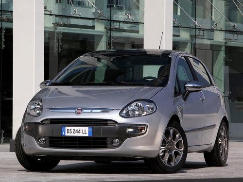 Фото автомобиля Fiat Punto 3 поколение [рестайлинг], ракурс: 45 цвет: серый