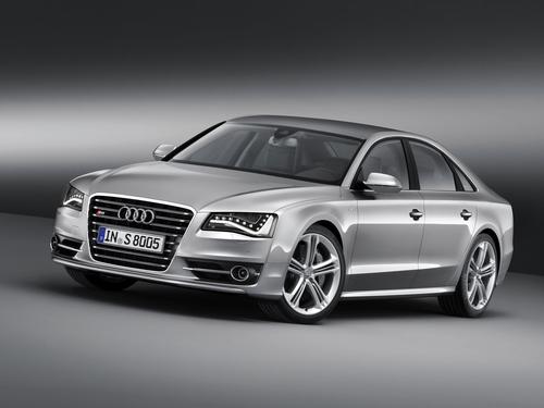 Фото автомобиля Audi S8 D4, ракурс: 45