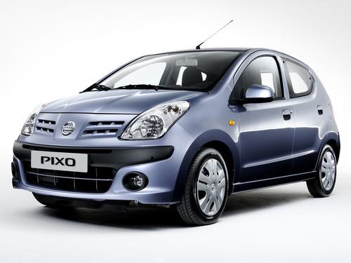 Фото автомобиля Nissan Pixo 1 поколение, ракурс: 45