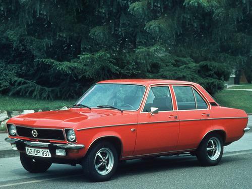 Фото автомобиля Opel Ascona A, ракурс: 45
