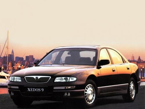 Фото автомобиля Mazda Xedos 9 1 поколение [рестайлинг], ракурс: 45