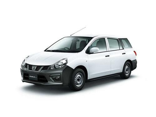 Фото автомобиля Mazda Familia Y12 [рестайлинг], ракурс: 45 цвет: белый