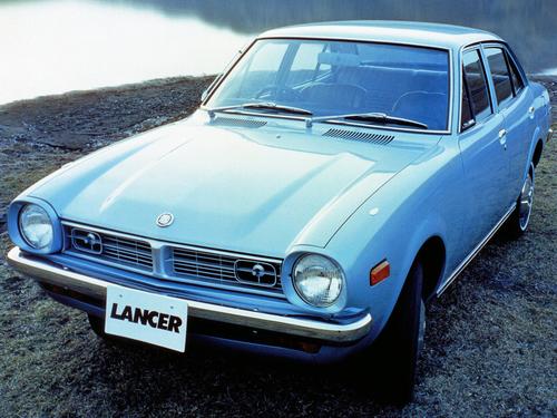 Фото автомобиля Mitsubishi Lancer A70, ракурс: 45