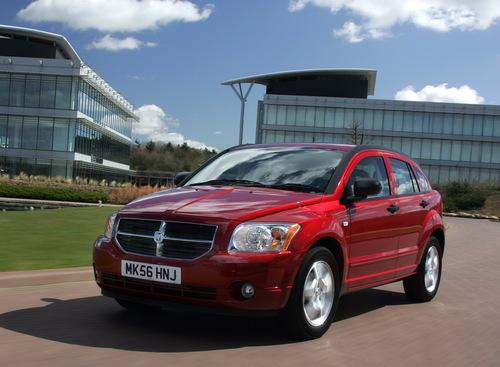 Фото автомобиля Dodge Caliber 1 поколение, ракурс: 45 цвет: красный