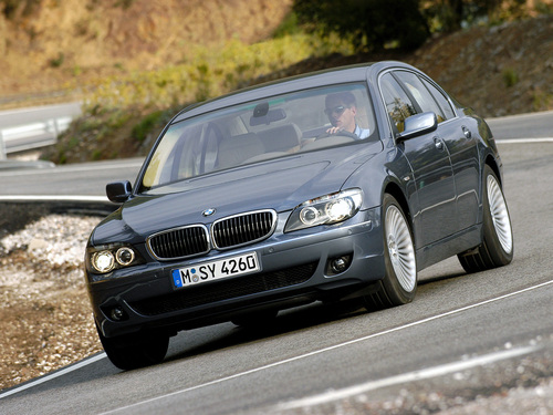 Фото автомобиля BMW 7 серия E65/E66 [рестайлинг], ракурс: 45