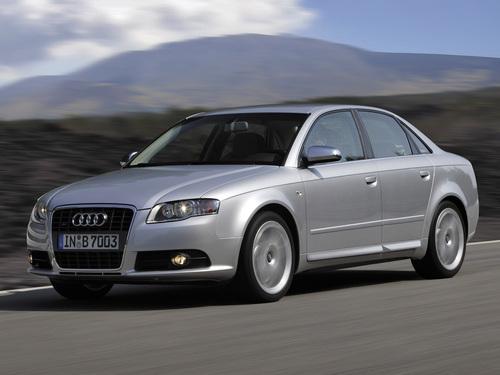 Фото автомобиля Audi S4 B7/8E, ракурс: 45