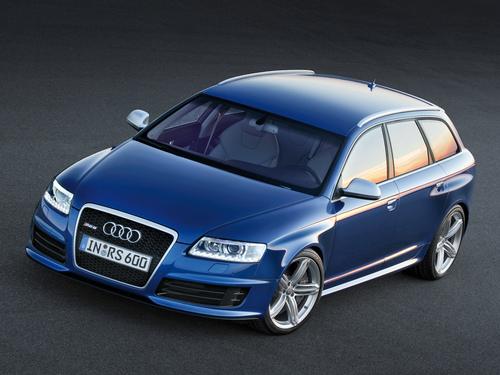 Фото автомобиля Audi RS 6 C6, ракурс: 45