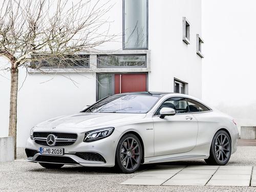 Фото автомобиля Mercedes-Benz S-Класс W222/C217/A217, ракурс: 45 цвет: серебряный