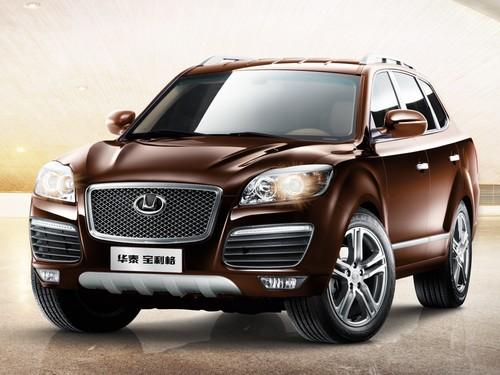Фото автомобиля Hawtai Boliger 1 поколение, ракурс: 45 цвет: коричневый