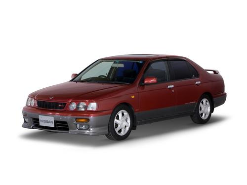 Фото автомобиля Nissan Bluebird U14, ракурс: 45