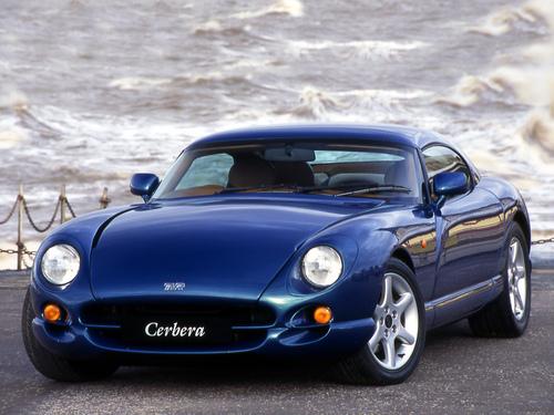 Фото автомобиля TVR Cerbera 1 поколение, ракурс: 45