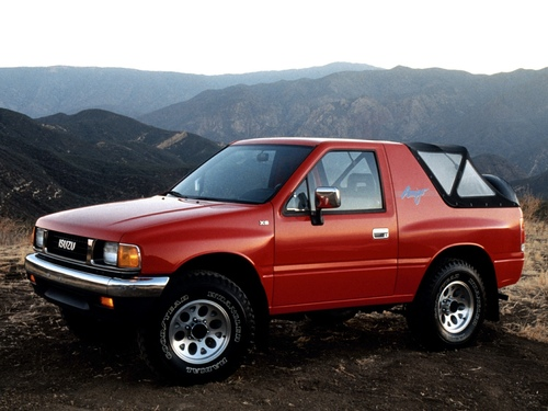 Фото автомобиля Isuzu Amigo 1 поколение, ракурс: 315