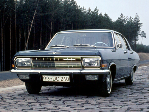 Фото автомобиля Opel Admiral A, ракурс: 45
