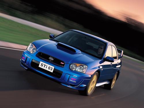 Фото автомобиля Subaru Impreza 2 поколение [рестайлинг], ракурс: 45