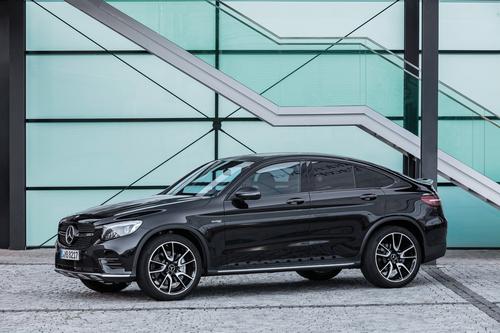 Фото автомобиля Mercedes-Benz GLC-Класс X253/C253, ракурс: 45 цвет: черный