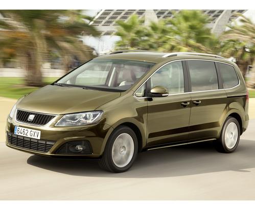 Фото автомобиля SEAT Alhambra 2 поколение, ракурс: 45 цвет: бронзовый