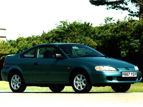 Фото автомобиля Toyota Cynos EL52/EL54, ракурс: 315