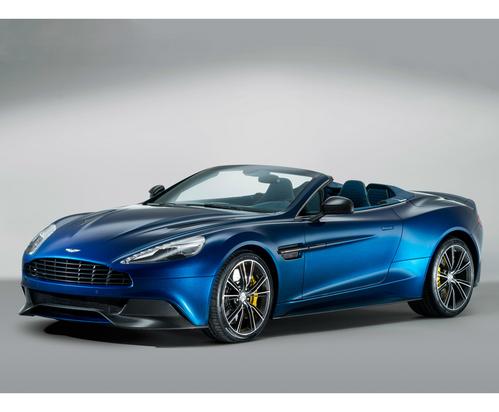 Фото автомобиля Aston Martin Vanquish 2 поколение, ракурс: 45