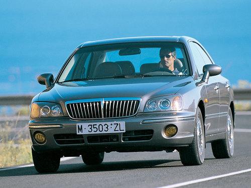 Фото автомобиля Hyundai XG 1 поколение, ракурс: 45