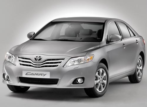 Фото автомобиля Toyota Camry XV40 [рестайлинг], ракурс: 45 цвет: серебряный