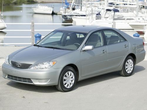 Фото автомобиля Toyota Camry XV30 [рестайлинг], ракурс: 45 цвет: серебряный