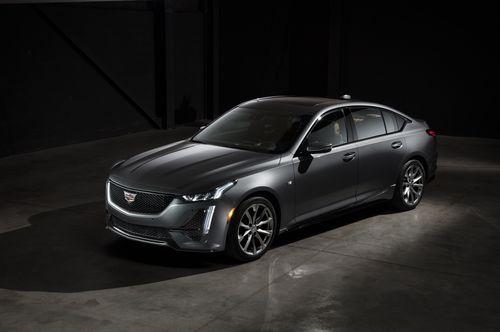 Фото автомобиля Cadillac CT5 1 поколение, ракурс: 45 цвет: серый