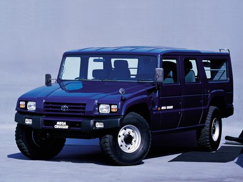 Фото автомобиля Toyota Mega Cruiser BXD20, ракурс: 45