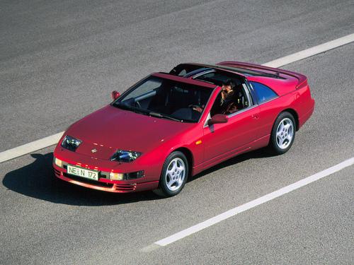 Фото автомобиля Nissan 300ZX Z32, ракурс: 45