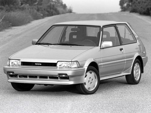 Фото автомобиля Toyota Corolla E80, ракурс: 45
