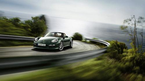 Фото автомобиля Porsche Boxster 987 [рестайлинг], ракурс: 45