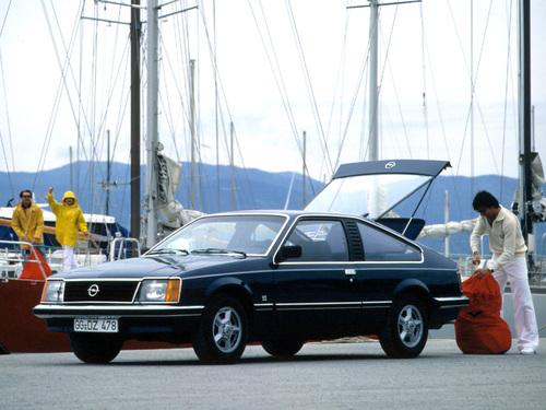 Фото автомобиля Opel Monza A1, ракурс: 45