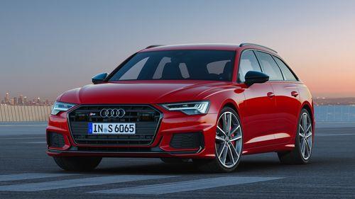 Фото автомобиля Audi S6 C8, ракурс: 45 цвет: красный