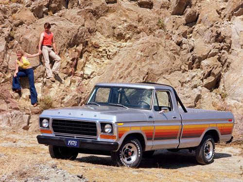 Фото автомобиля Ford F-Series 6 поколение, ракурс: 45