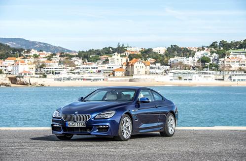 Фото автомобиля BMW 6 серия F06/F12/F13 [рестайлинг], ракурс: 45 цвет: синий