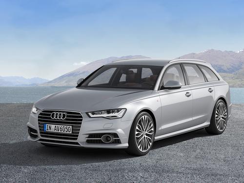 Фото автомобиля Audi A6 4G/C7 [рестайлинг], ракурс: 45 цвет: серебряный