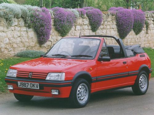 Фото автомобиля Peugeot 205 1 поколение, ракурс: 45