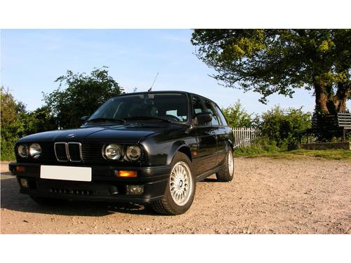 Фото автомобиля BMW 3 серия E30 [рестайлинг], ракурс: 45