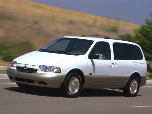 Фото автомобиля Mercury Villager 3 поколение, ракурс: 45