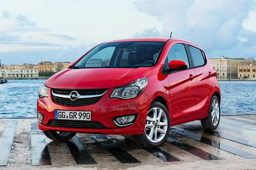 Фото автомобиля Opel Karl 1 поколение, ракурс: 45 цвет: красный