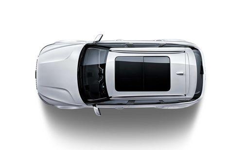 Фото автомобиля Zotye T700 1 поколение, ракурс: сверху цвет: белый