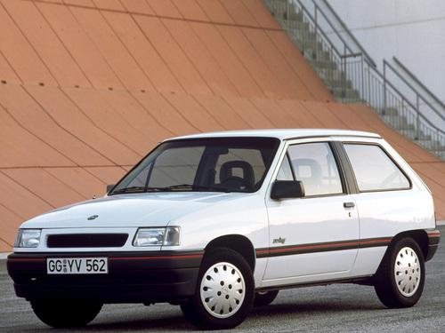 Фото автомобиля Opel Corsa A [2-й рестайлинг], ракурс: 45