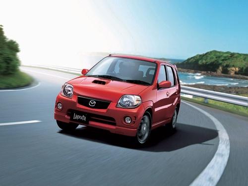 Фото автомобиля Mazda Laputa 1 поколение, ракурс: 45