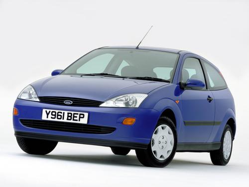 Фото автомобиля Ford Focus 1 поколение, ракурс: 45 цвет: синий