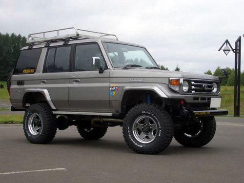 Фото автомобиля Toyota Land Cruiser J70 [2-й рестайлинг], ракурс: 315