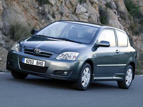 Фото автомобиля Toyota Corolla E130 [рестайлинг], ракурс: 45